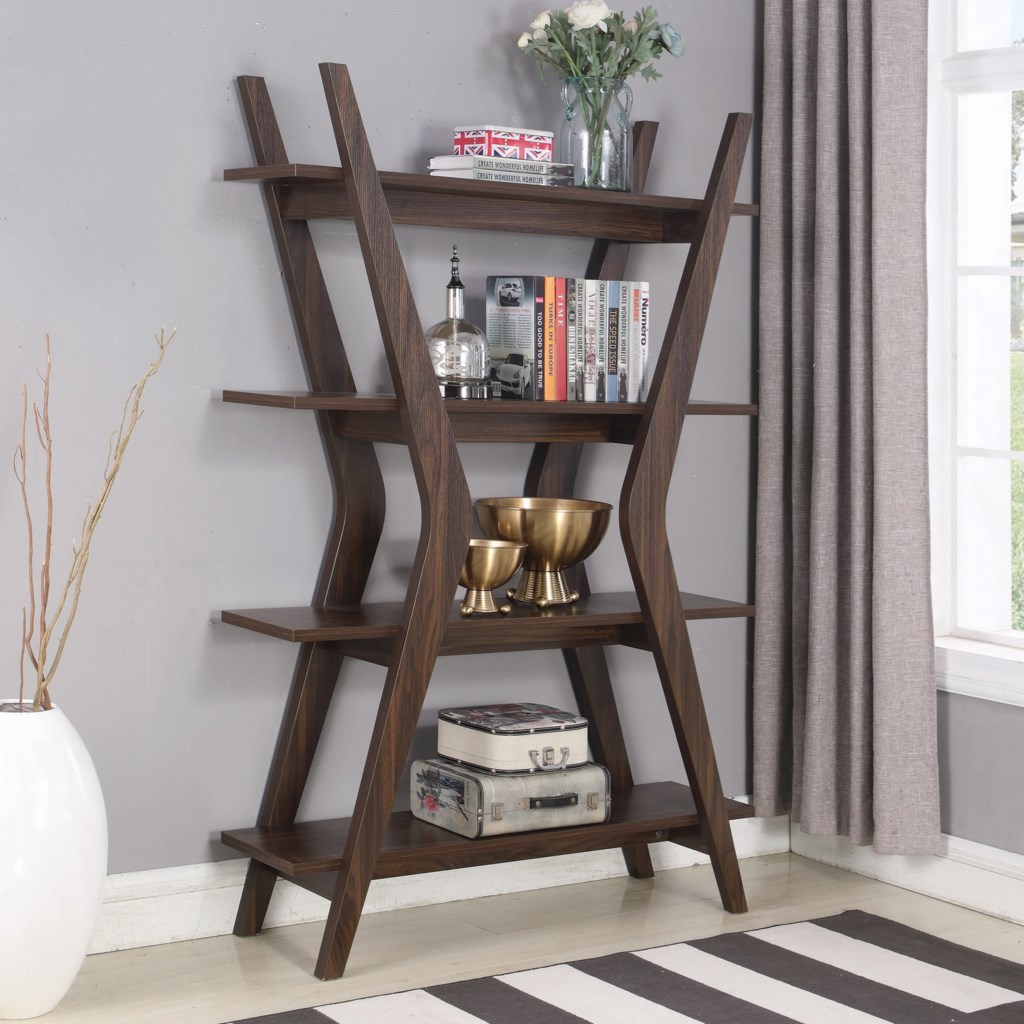 Furniture open bookcases coaster accent cabinets bookcase coaster accent cabinetsbookcase
