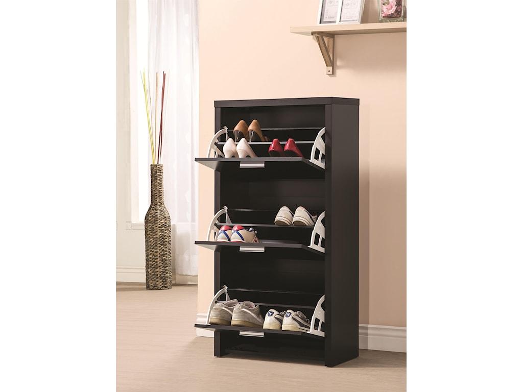 Coaster Accent CabinetsShoe Cabinet