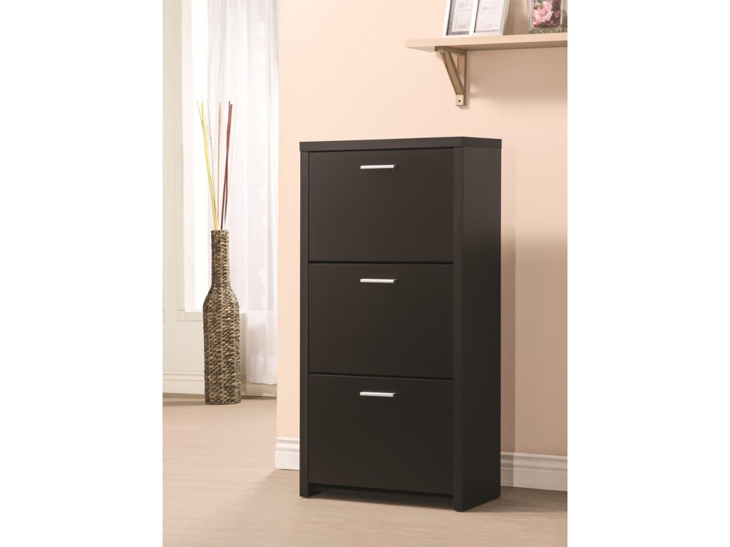Fine Furniture Accent CabinetsShoe Cabinet