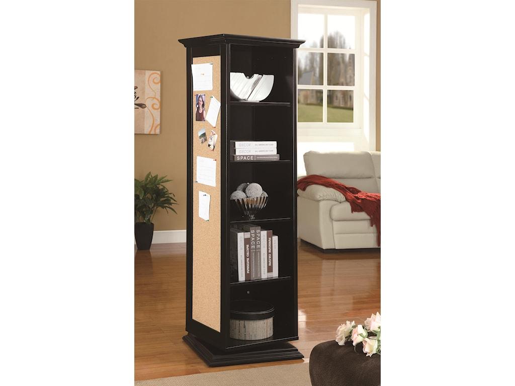Coaster Accent CabinetsSwivel Cabinet