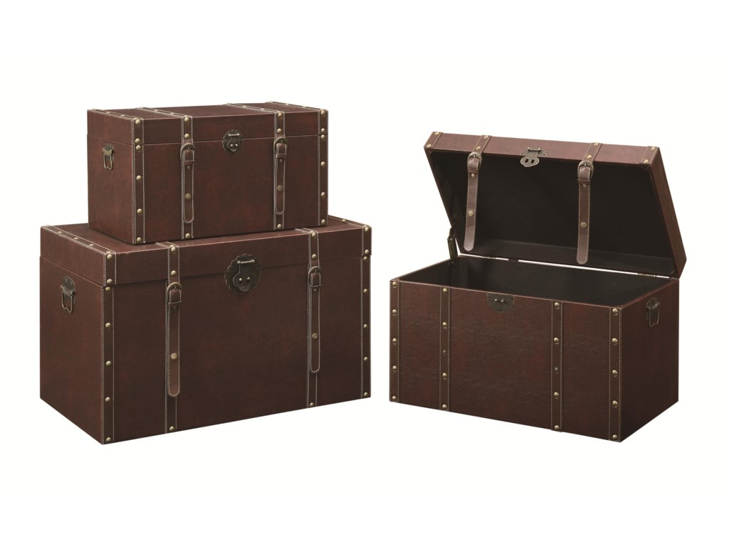 Fine Furniture Accent CabinetsStorage Trunk (L)