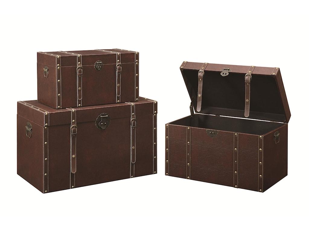 Coaster Accent CabinetsStorage Trunk (L)