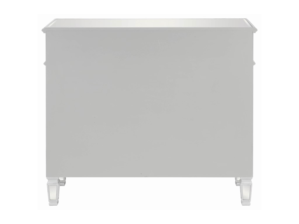Coaster Accent CabinetsContemporary Silver Accent Cabinet