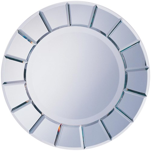 Coaster Accent Mirrors Round Sun-Shape Mirror
