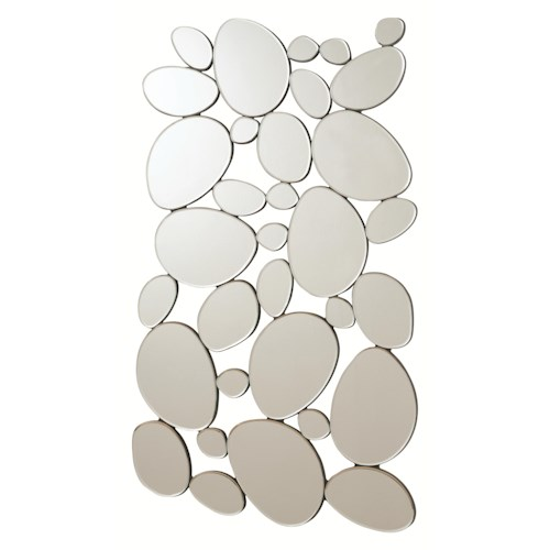 Coaster Accent Mirrors Modern Pebble Mirror