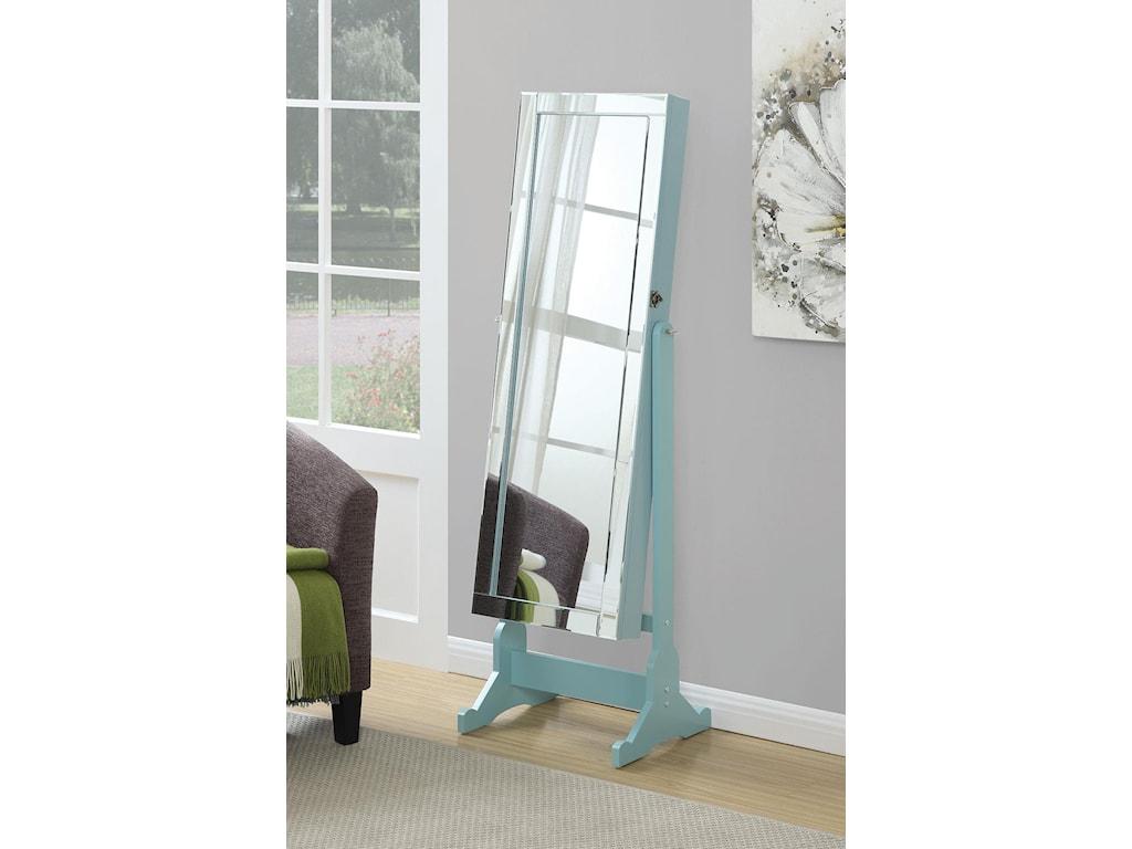 Coaster Accent MirrorsJewelry Cheval Mirror