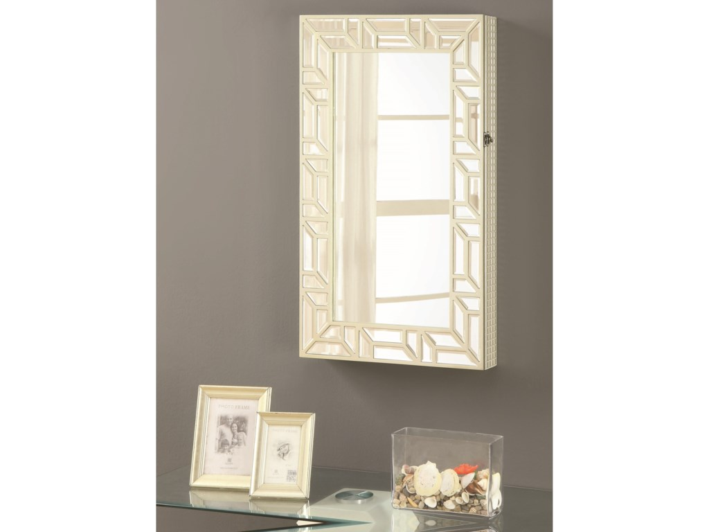 Coaster Accent MirrorsJewelry Armoire