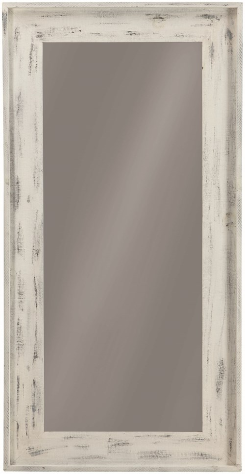 Coaster Accent Mirrors Distressed Frame Accent Mirror