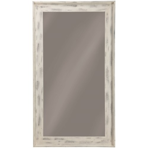 Coaster Accent Mirrors Accent Mirror with Distressed Frame