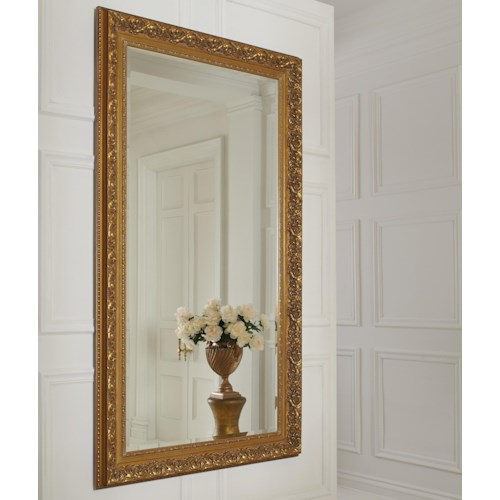 Coaster Accent Mirrors Wall Mirror with Gilded Frame