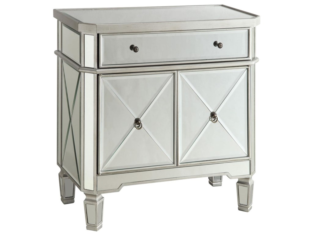 Collection Two Accent RacksWine Cabinet