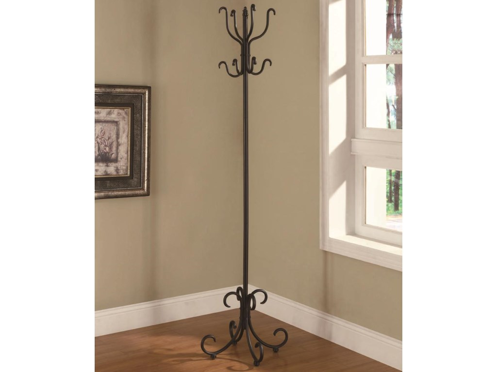 Coaster Accent RacksMetal Coat Rack