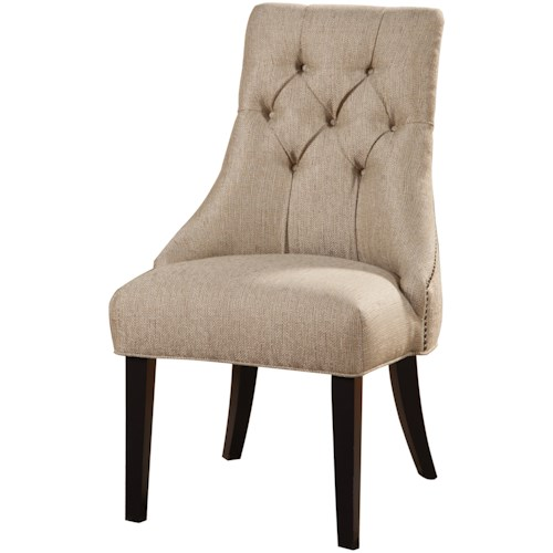Coaster Accent Seating Tufted Side Chair