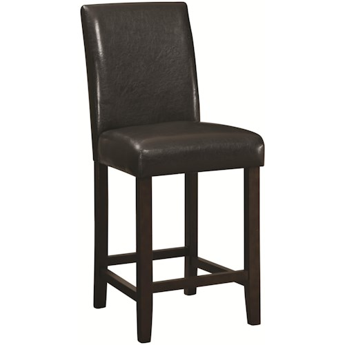Coaster Accent Seating Counter Height Parson Stool