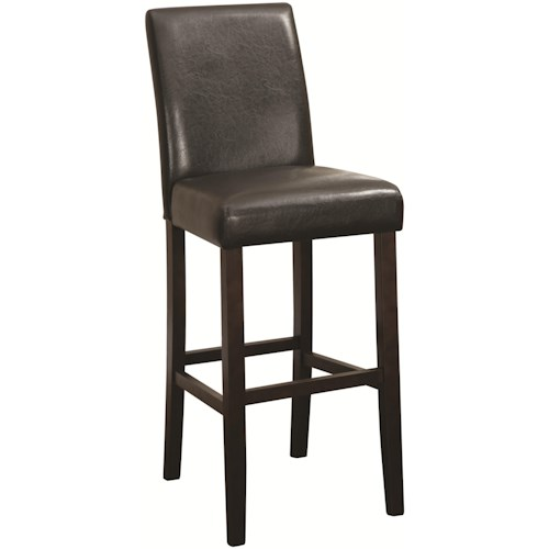 Coaster Accent Seating Bar Height Parson Stool