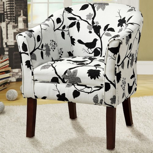Coaster Accent Seating Upholstered Accent Chair