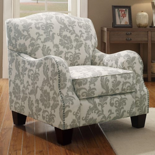 Coaster Accent Seating Traditional Cottage Styled Accent Chair