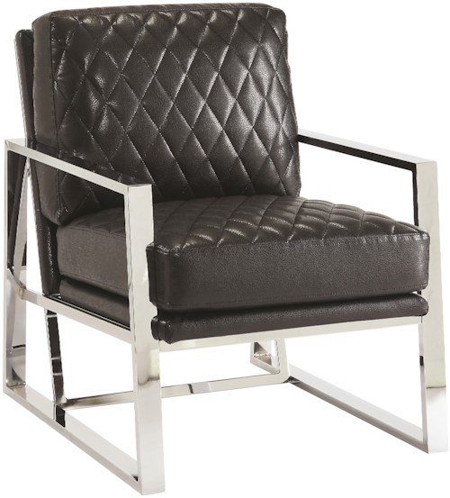 Coaster Accent Seating Leatherette Accent Chair