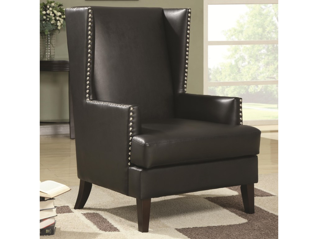 Coaster Accent SeatingWing Back Accent Chair