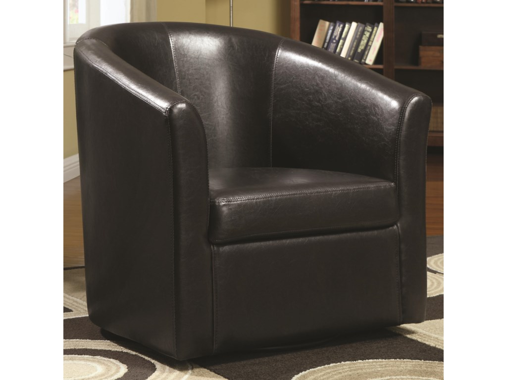 Coaster Accent SeatingSwivel Accent Chair
