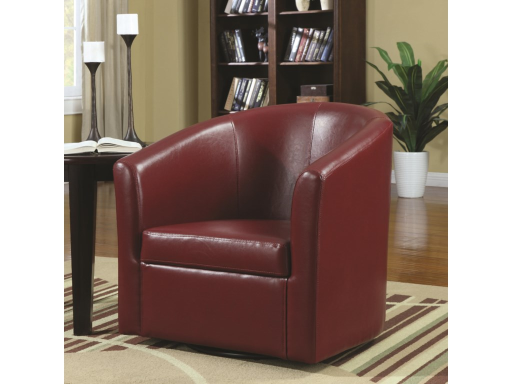 Rooms Collection Two Accent SeatingSwivel Accent Chair
