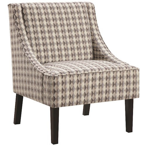 Coaster Accent Seating Upholstered Tight Back Accent Chair