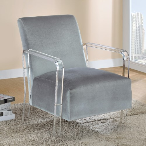 Coaster Accent Seating Modern Accent Chair
