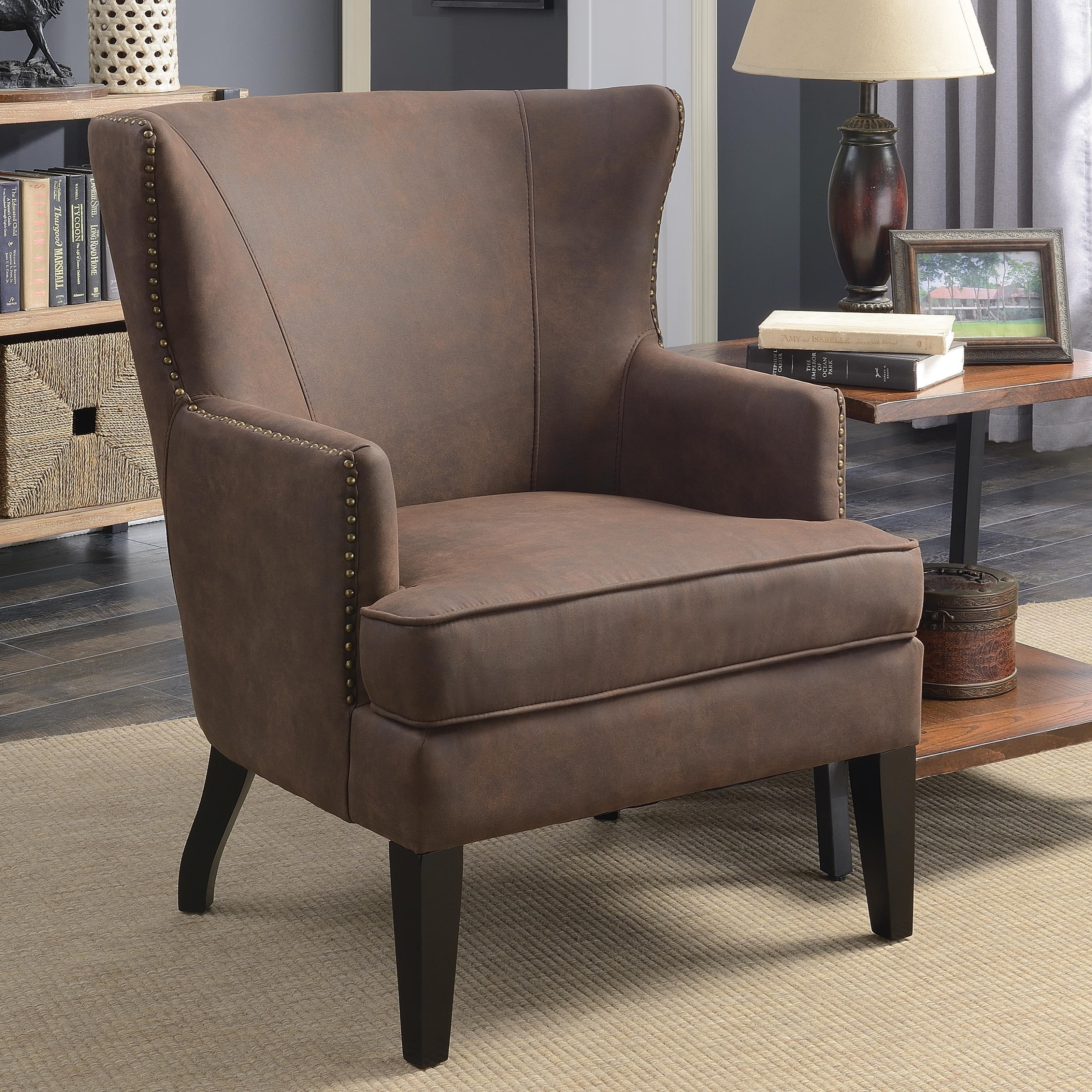 Coaster Accent Seating Accent Chair With Winged Back