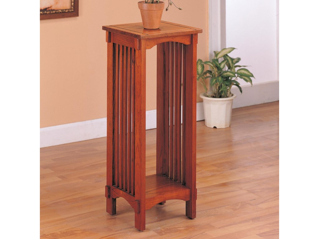 Rooms Collection Two Accent StandsSquare Plant Stand