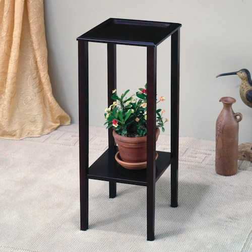 Coaster Accent Stands Plant Stand with Bottom Shelf