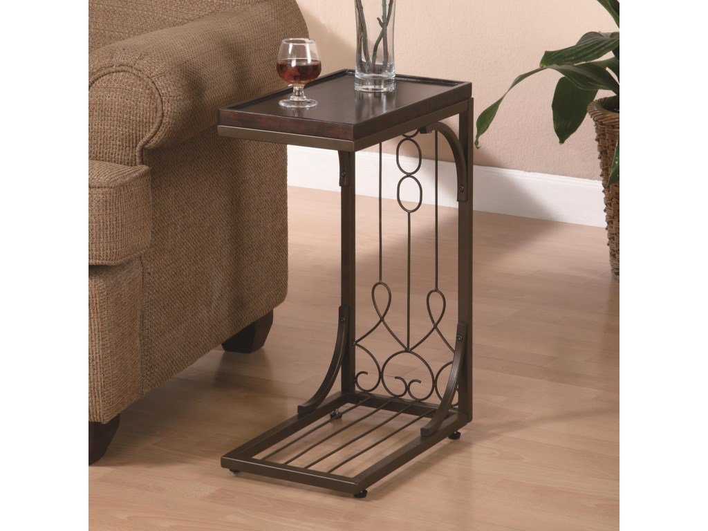 Rooms Collection Two Accent TablesSnack Table