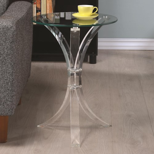 Coaster Accent Tables Contemporary Accent Table