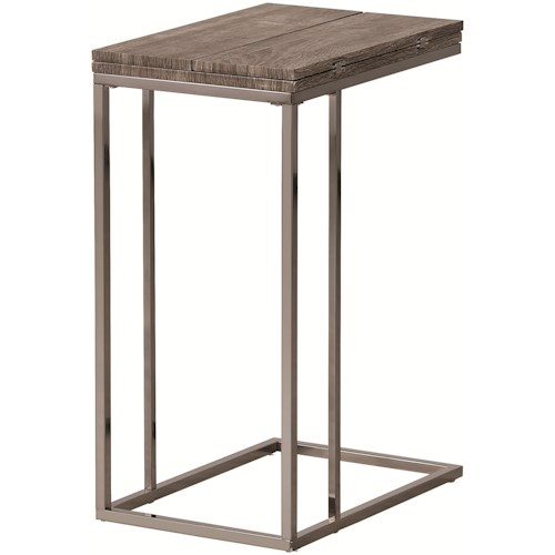 Coaster Accent Tables Weathered Snack Table