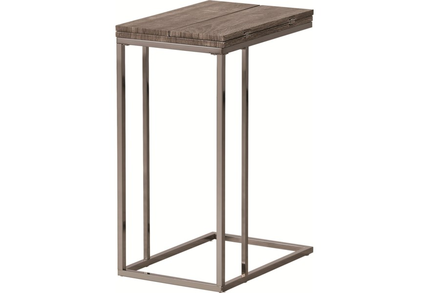 Accent Tables Weathered Snack Table