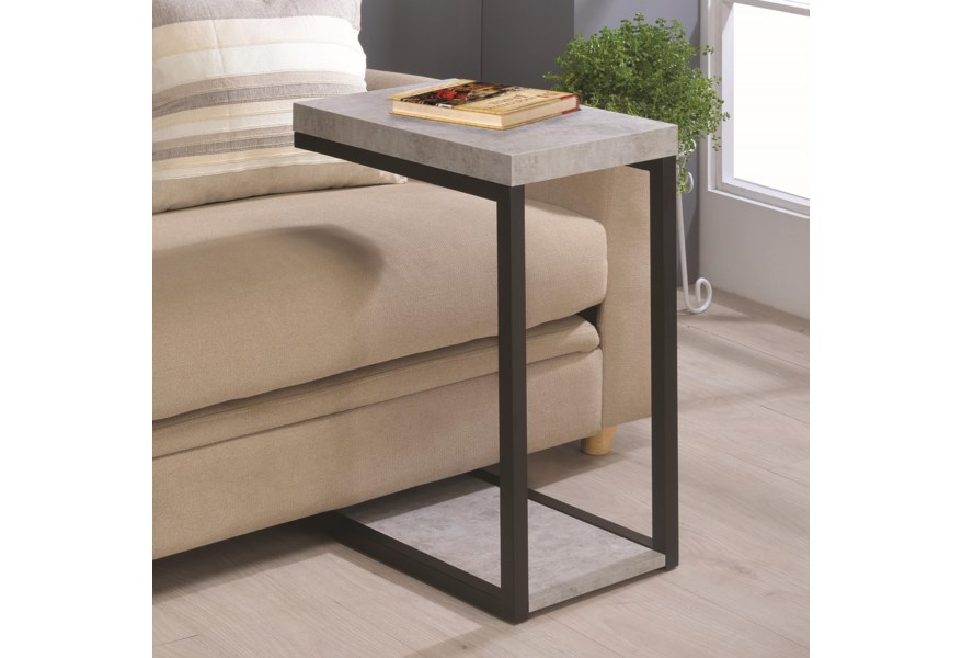 Accent Tables Industrial Snack Table by Coaster at Lapeer Furniture &  Mattress Center