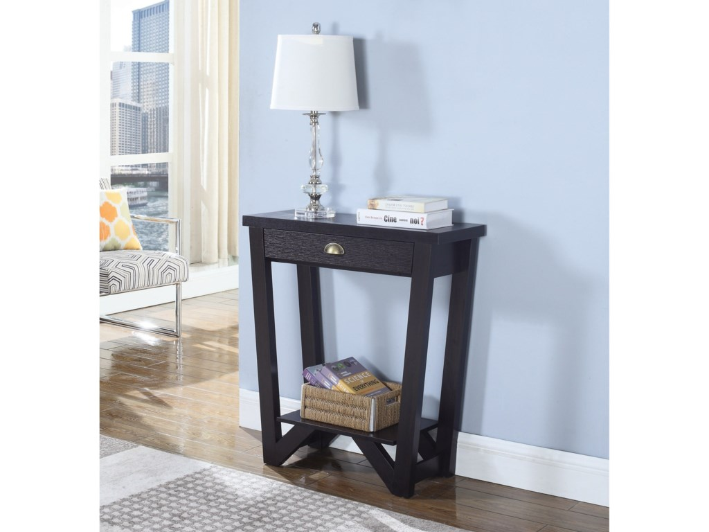Rooms Collection Two Accent TablesConsole Table