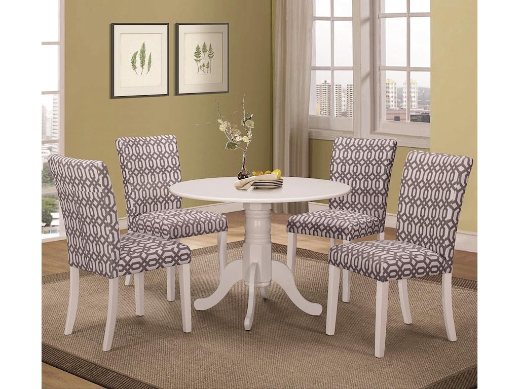 Coaster Allston5 Pc Table & Chair Set