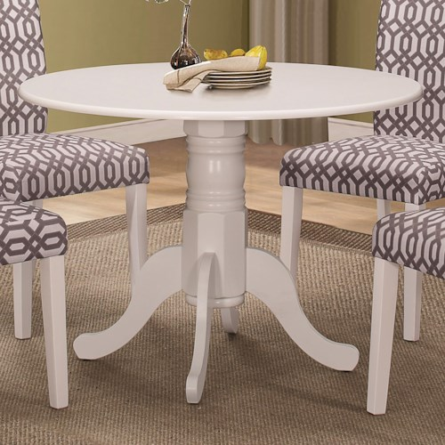 Coaster Allston Round Pedestal Table