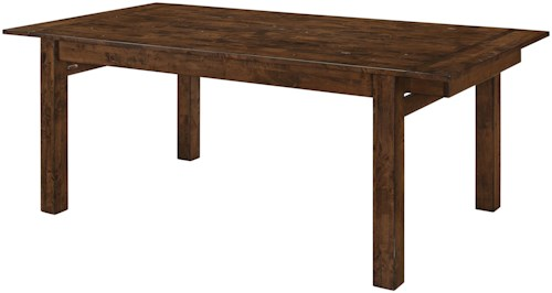 Coaster Alston Rectangular Dining Table with Double Butterfly Leaves
