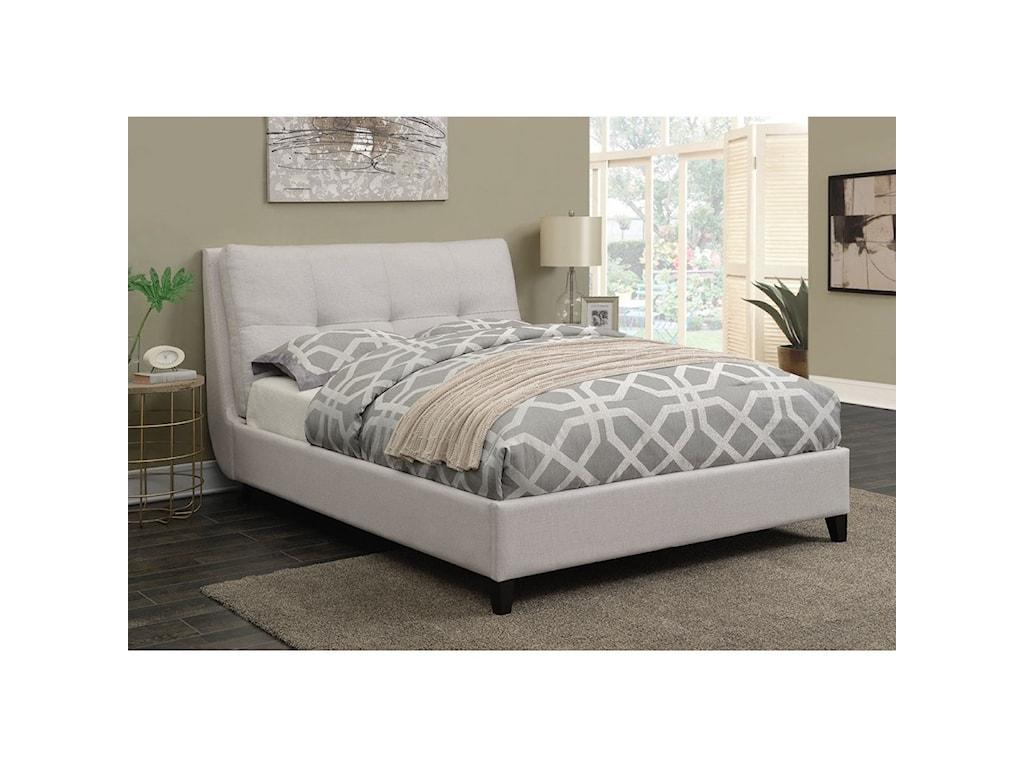 Coaster AmadorUpholstered Full Platform Bed