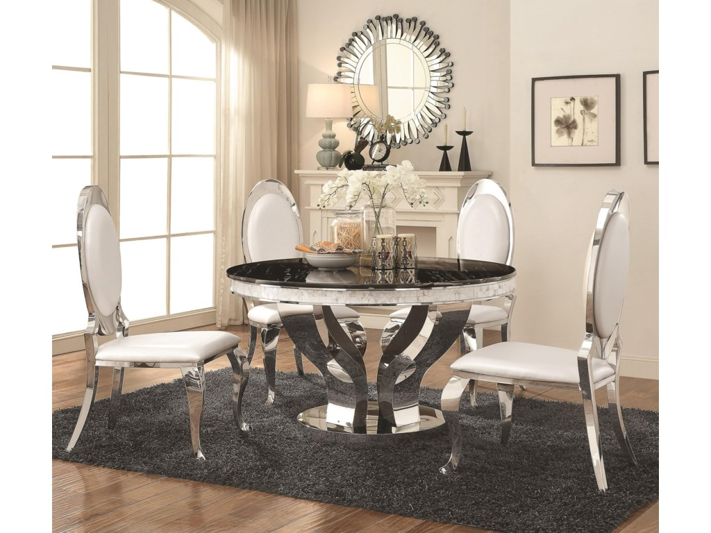 Coaster Anchorage5 Piece Dining Table Set