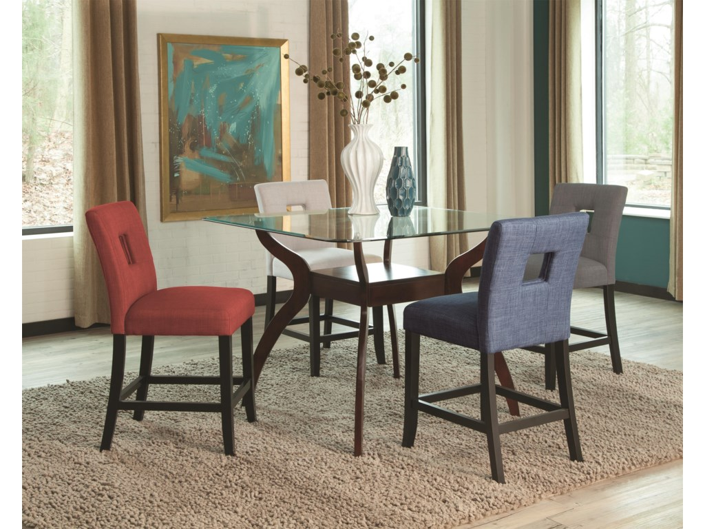 Coaster Andenne5 Piece Counter Table Set