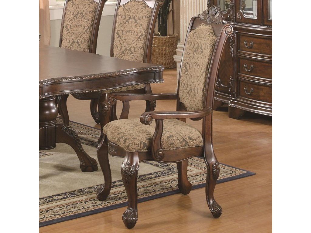 Coaster Andrea7 Piece Table and Chair Set