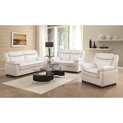 Coaster Arabella Stationary Living Room Group