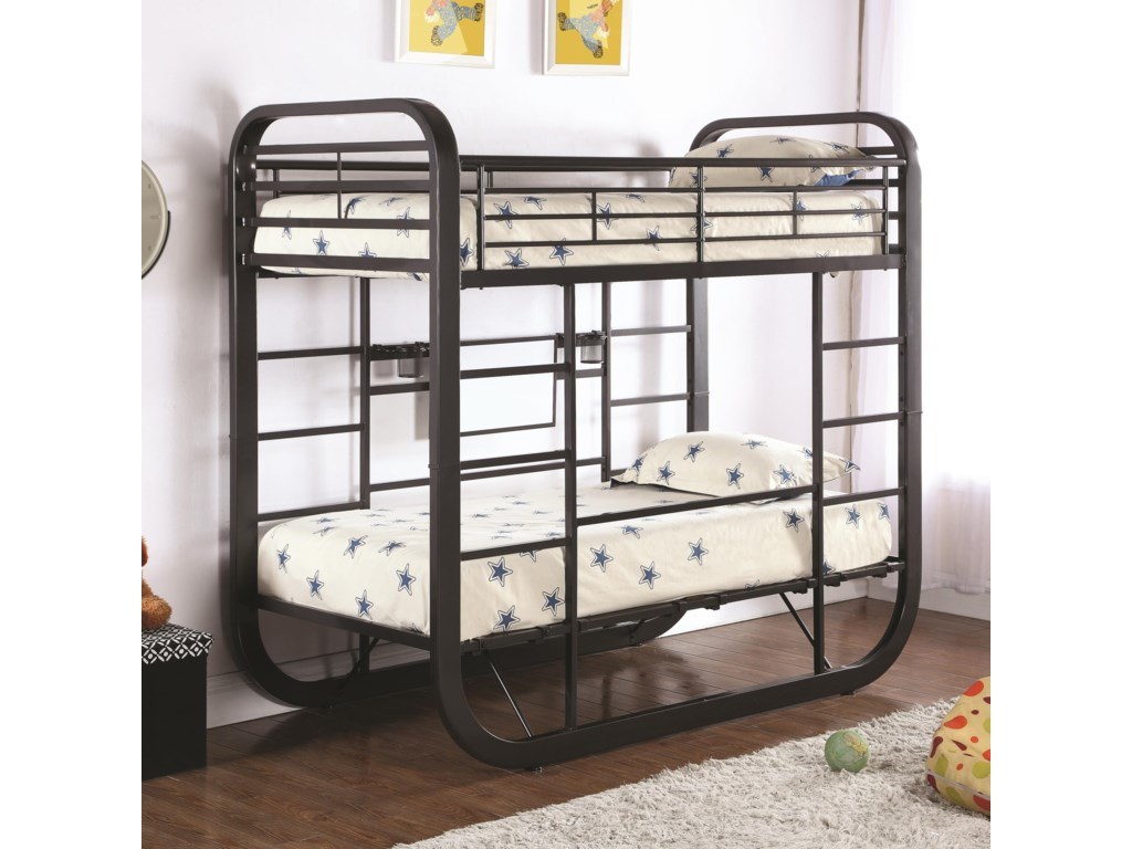 Coaster ArcherTwin Workstation Bunk Bed