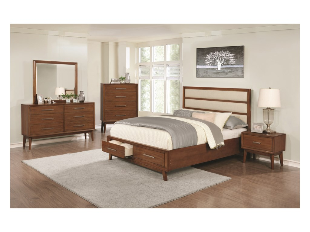 Coaster Banning Queen Bedroom Group | Beck\'s Furniture | Bedroom ...