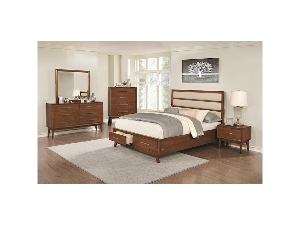 Coaster Banning Queen Bedroom Group | Beck\'s Furniture | Bedroom ...