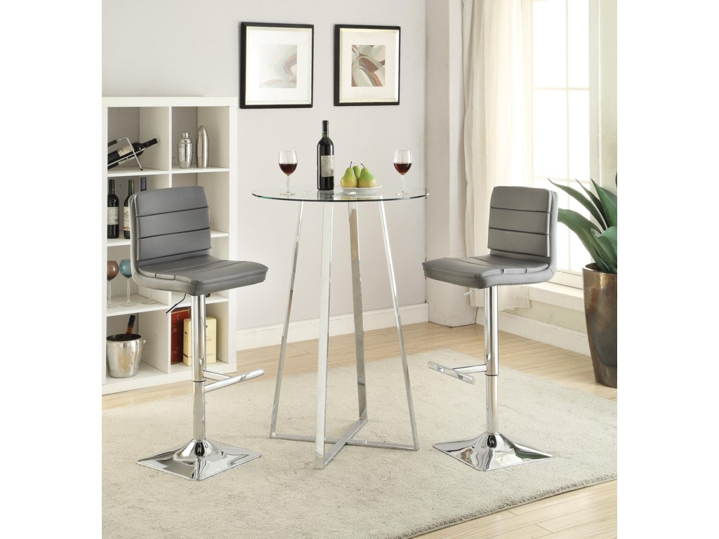 Coaster Bar Units And Tabar Height Dining Set