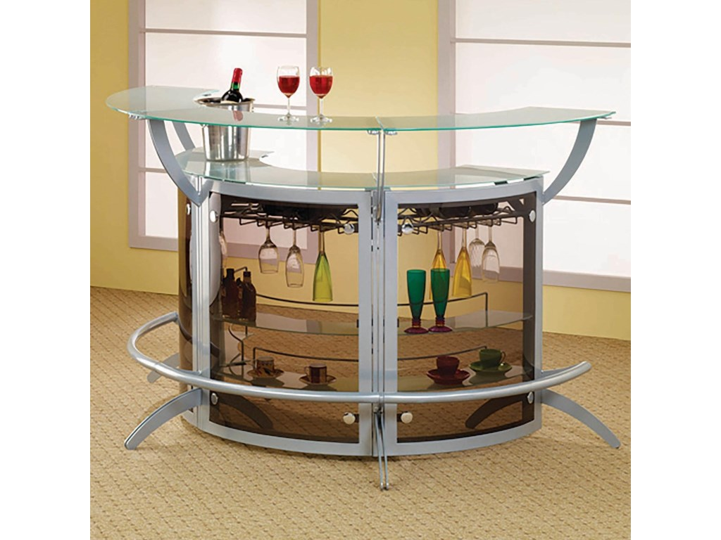 Coaster Bar Units and Bar TablesBar Unit, Set of 3