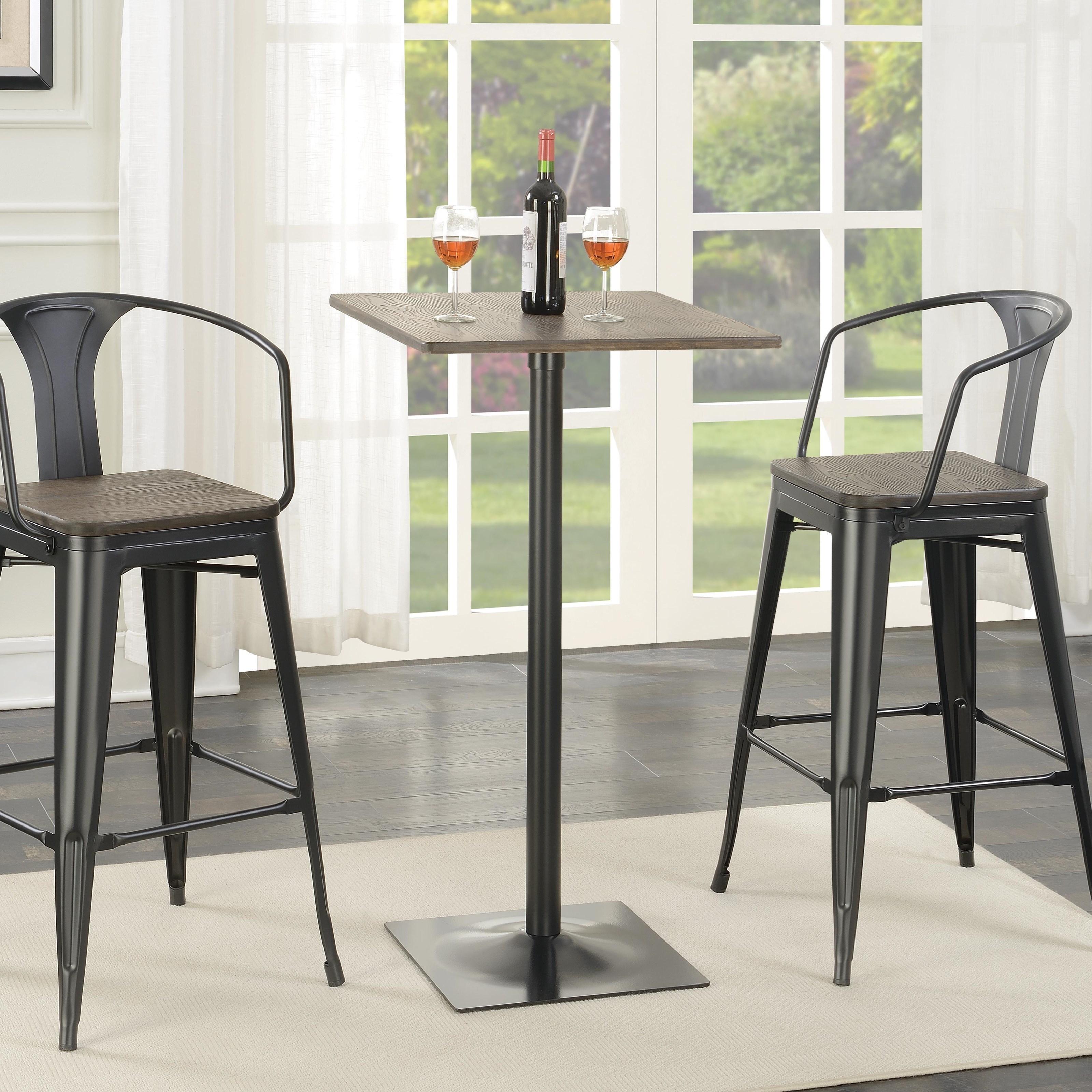 Coaster Bar Units And Bar Tables Industrial Bar Table